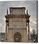 Louvre - Paris France - 01131 Acrylic Print by DC Photographer