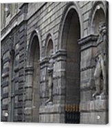 Louvre - Paris France - 011316 Acrylic Print by DC Photographer