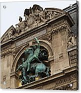 Louvre - Paris France - 011333 Acrylic Print by DC Photographer
