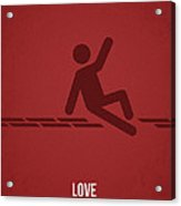 Love Acrylic Print by Aged Pixel