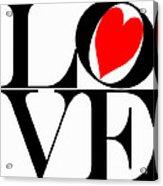 Love All Around Acrylic Print