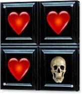 Love And Death II Acrylic Print