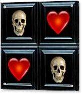 Love And Death Vi Acrylic Print