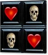 Love And Death Vii Acrylic Print