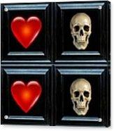 Love And Death Xi Acrylic Print