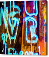 Love And Something Else Acrylic Print