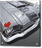 Love At First Sight - '66 Mustang Acrylic Print