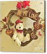 Love Be My Love Acrylic Print