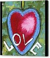 Love Be Still My Heart  Acrylic Print