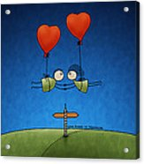 Love Beyond Boundaries Acrylic Print by Gianfranco Weiss