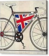 Love Bike Love Britain Acrylic Print by Andy Scullion