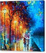 Love By The Lake Acrylic Print