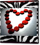 Love Comes Over You Acrylic Print