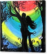 Love Energy Acrylic Print