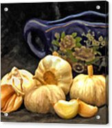 Love For Garlic Acrylic Print