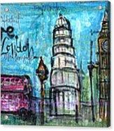 Love For London Acrylic Print