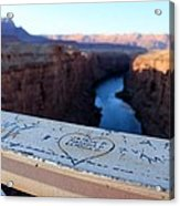 Love From Above On The Navajo Acrylic Print