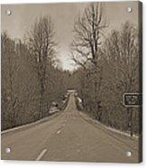 Love Gap Blue Ridge Parkway Acrylic Print