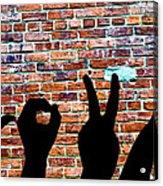 Love Hands Acrylic Print