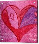 Love Heart 2 Acrylic Print