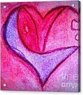 Love Heart 3 Acrylic Print