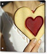 Love Heart Valentine Acrylic Print