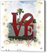 Put A Little Love In Your Heart Acrylic Print