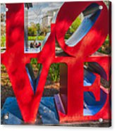 Love In City Park New Orleans Acrylic Print