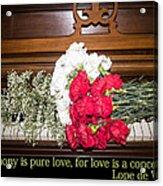 Love In Harmony Acrylic Print