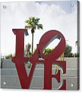 Love In A Summer Landscape Acrylic Print