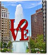 Love In The Park Acrylic Print