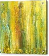 Love in Yellow Acrylic Print