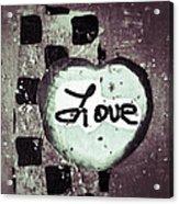 Love Is All You Need Acrylic Print by Patricia Januszkiewicz