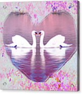 Love Is Everywhere Acrylic Print by Bill Cannon