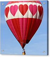 Love Is In The Air Acrylic Print