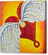 Love Is Taking Flight Acrylic Print