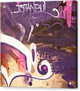 Love Istanbul 02 Acrylic Print