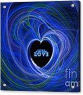 Love - Love - Love Acrylic Print