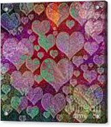 Love... Love... Love Acrylic Print
