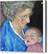 Woman, Redux Acrylic Print