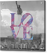 Love - New York City Acrylic Print