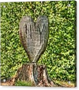 Love Ny Acrylic Print