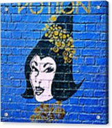 Love Potion Diagon Alley Acrylic Print