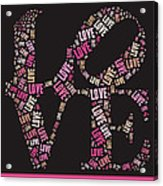 Love Quatro - S08a Acrylic Print by Variance Collections
