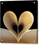 Love Reading II Acrylic Print
