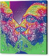 Love Self Evident Aka Portrait Of Flap Jack Stevens Acrylic Print