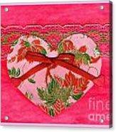 Love Series Collage - Heart 8 Acrylic Print
