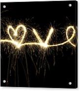 Love Shines Brightly Acrylic Print