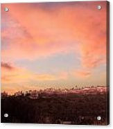 Love Sunset Acrylic Print