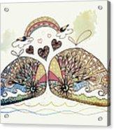 Love Sweet Love Acrylic Print
